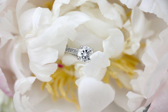 Beautiful Peony Bridal Bouquet Soft Ivory Light Pink