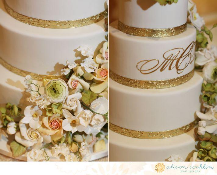 25 delightful wedding cakes with cascading florals. Black Bedroom Furniture Sets. Home Design Ideas