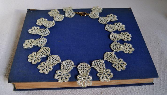 Statement Wedding Necklace DIY