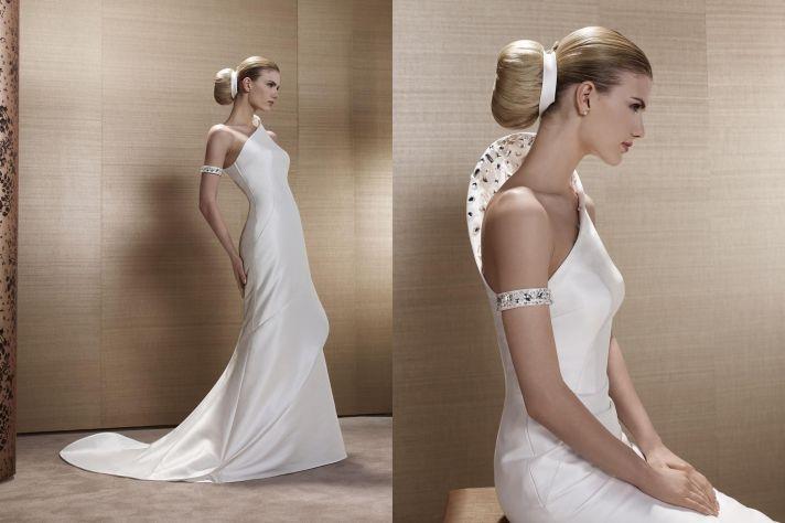 2013 Wedding Dress by French Bridal Designer Elisabeth Barboza kh25