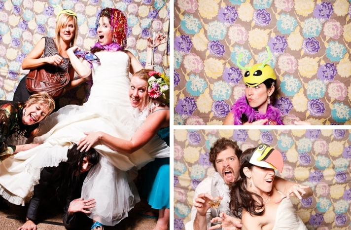 Funny Wedding Photo Booth Moments Wacky Props