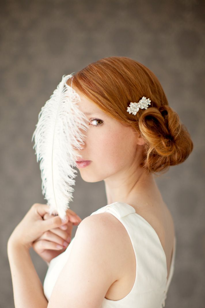 5 Gorgeous Wedding Hairstyles that Command Attention