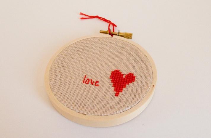 Modern Wedding Decor Stitched Love