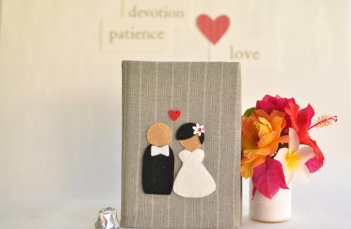 Unique Wedding GuestBook or Photo Album
