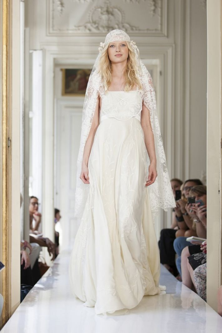 2013 Wedding Dress by Delphine Manivet French Bridal Crespin