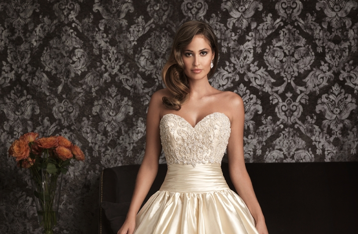 Allure Bridals Wedding Dress Bridal Gown Allure Collection Sweetheart
