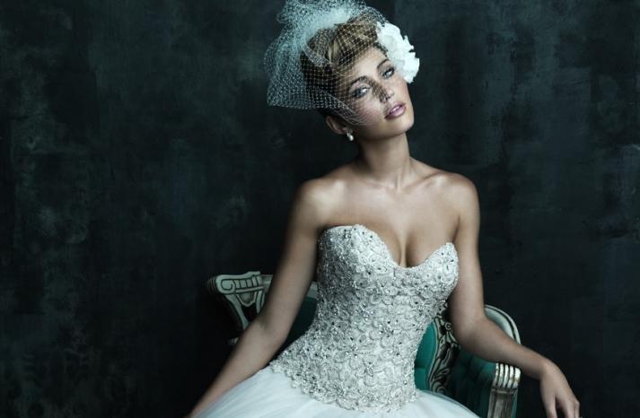 Allure Couture 2013 Wedding Dress C244 c