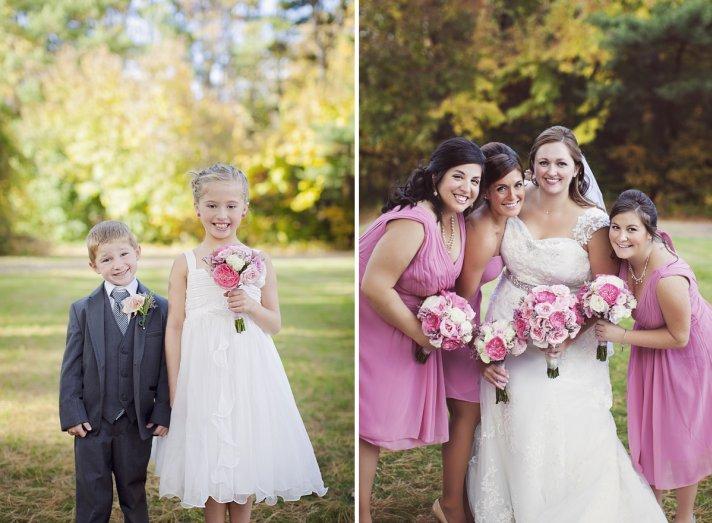 Monochromatic Pink Bridal Bouquet