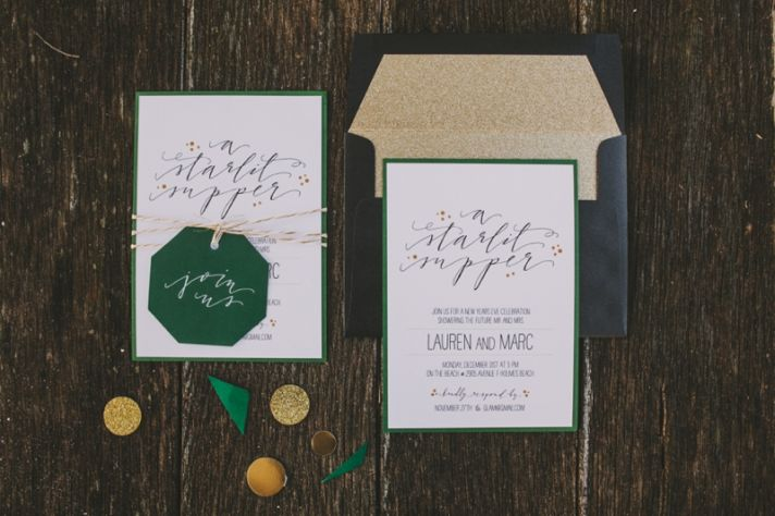 emerald green and gold enement party inspiration 0016