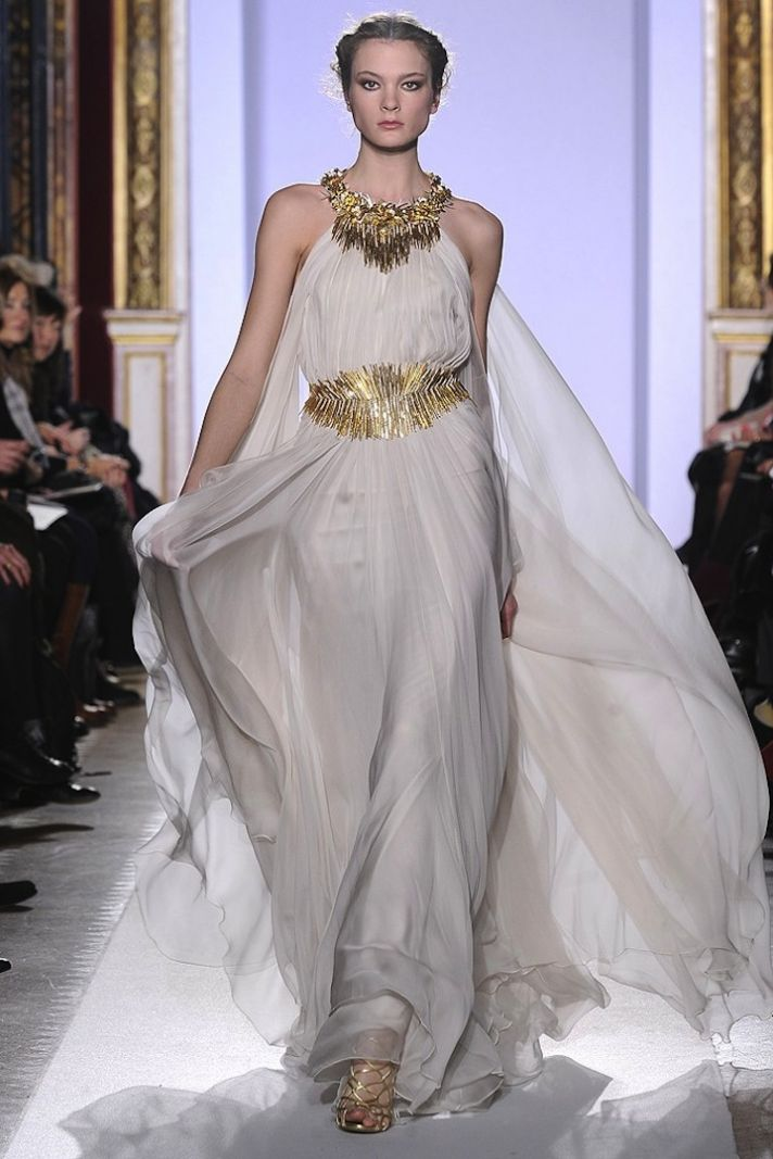 Bridal Style Inspiration Gilded Magic By Zuhair Murad