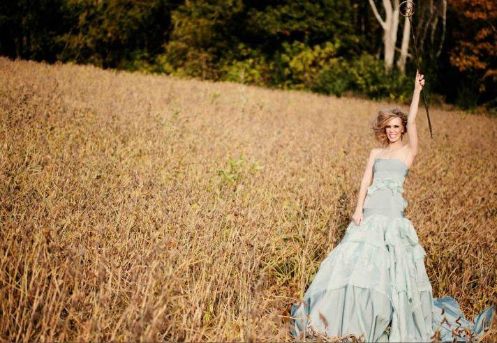 Fall 2013 Wedding Dress by Tara LaTour Something Blue Ricky