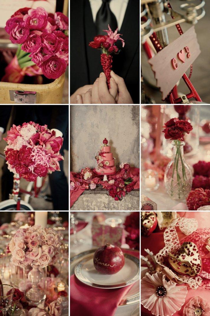Vintage Valentines Wedding Style Inspiration