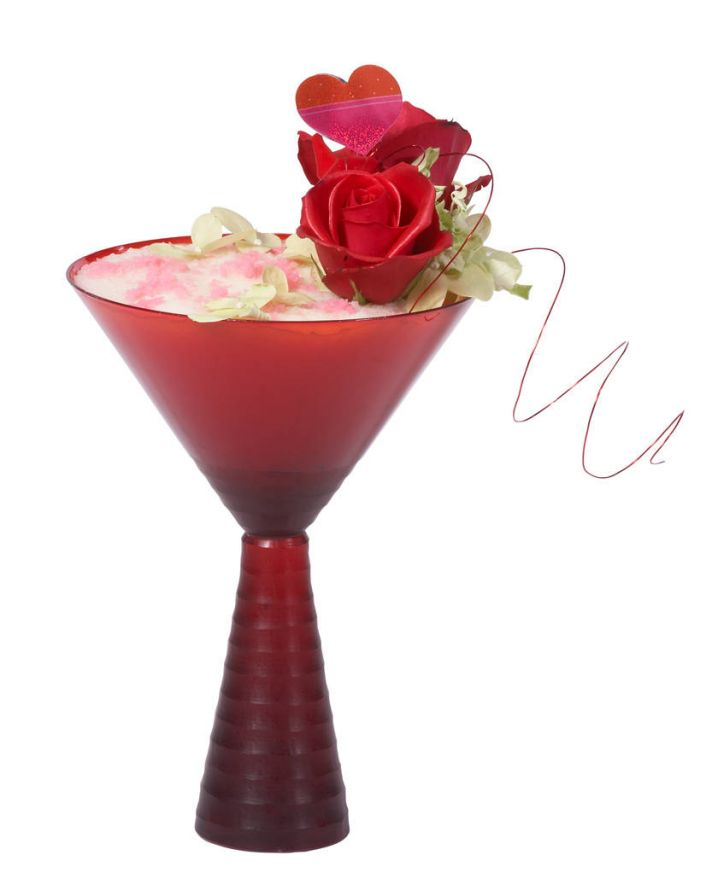 Sweetheart Martini Wedding Signature Drink