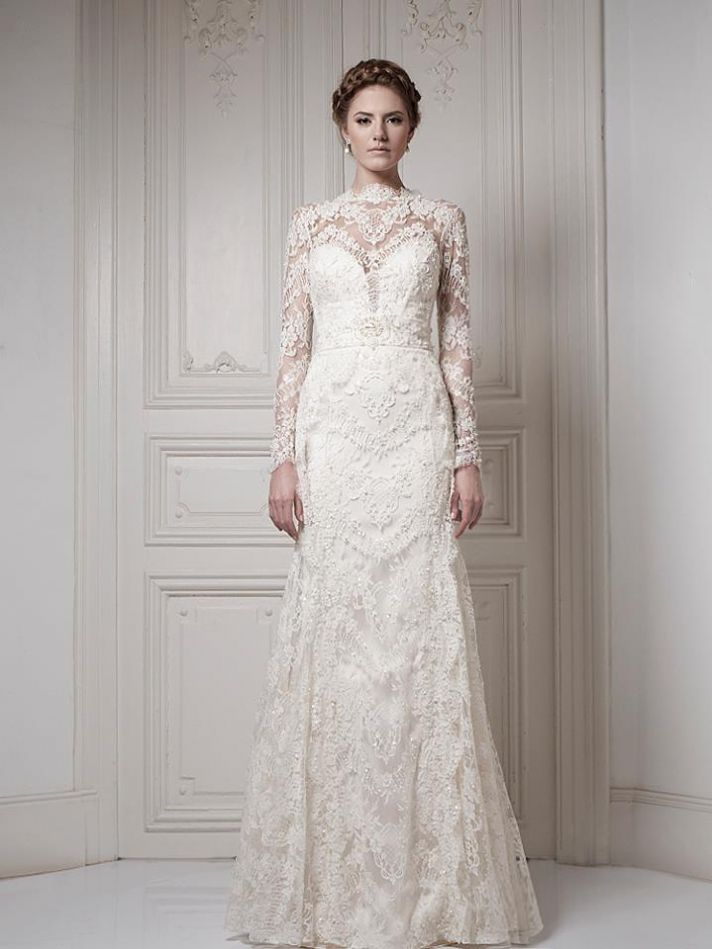 Ersa Atelier Wedding Dress 2013 Bridal 15