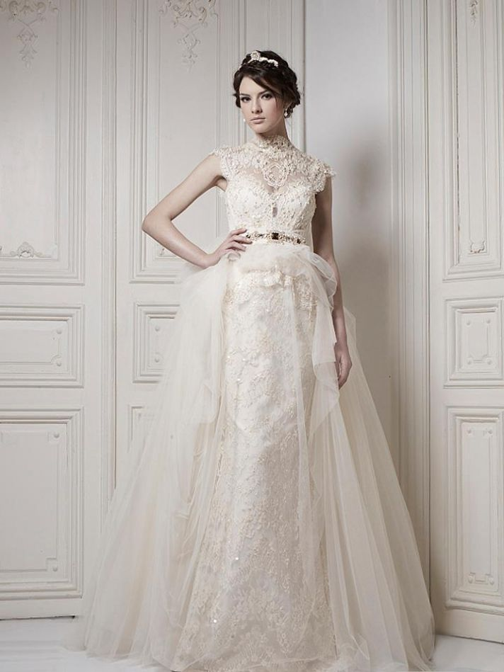Ersa Atelier Wedding Dress 2013 Bridal 3