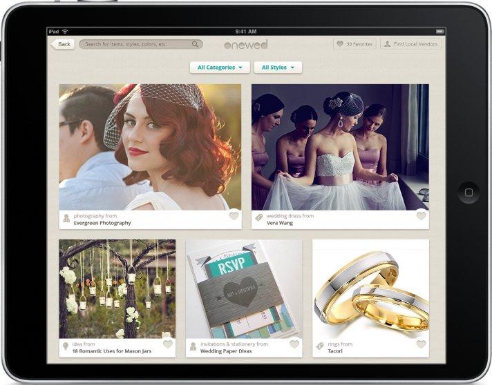 OneWed iPad Mock for Media