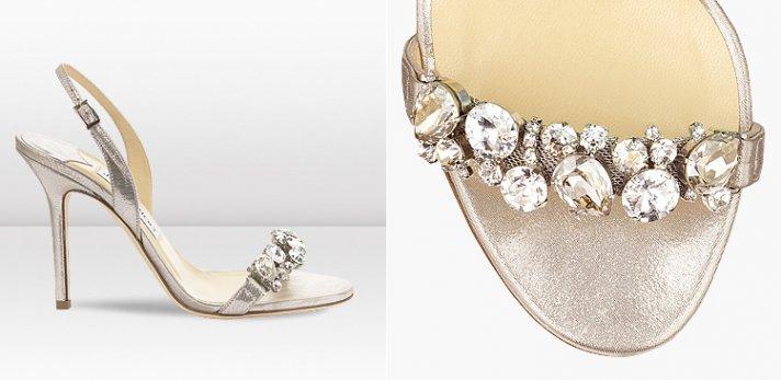 Silver Shoes Wedding 11 Simple New Jimmy Choo Bridal