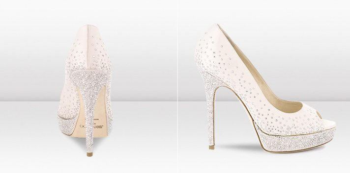 New Jimmy Choo Bridal Shoes Collection Wedding Splurge 2