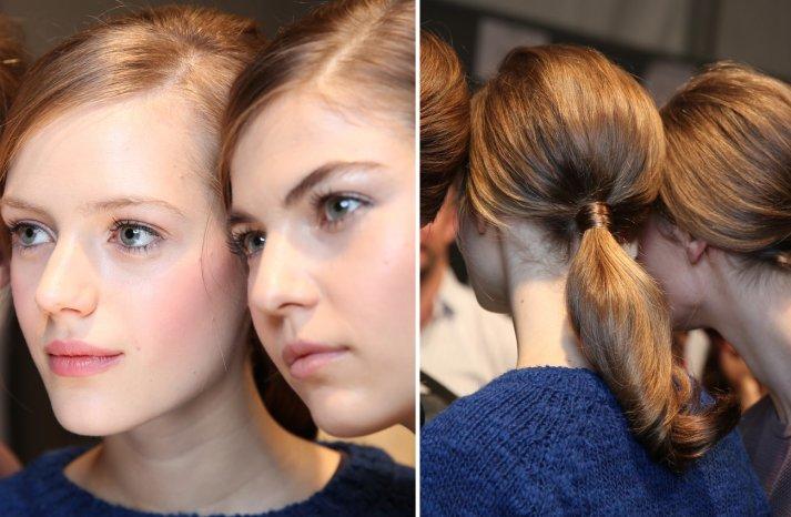 Moschino Fall 2013 Wedding Hair Makeup Inspiration 1