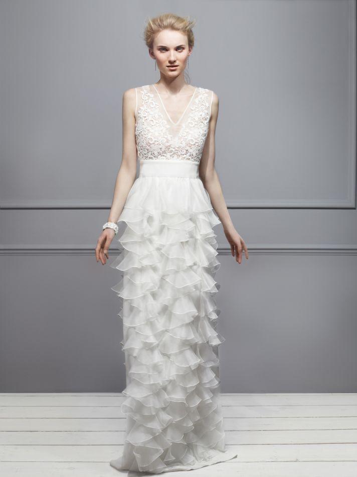 Giambattista Valli Wedding Dress 2013 Exclusive Bridal Designer Collection from Net a Porter
