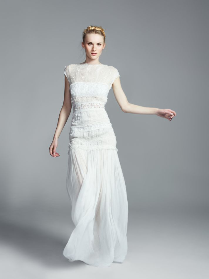 First look at the exclusive bridal collection from net a for The net a porter