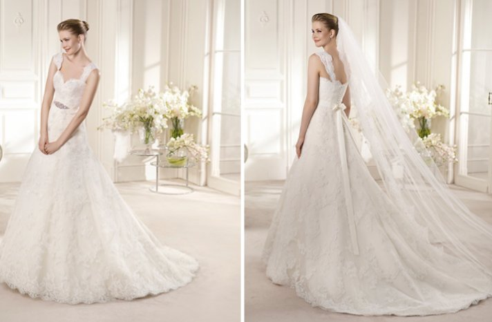 2013 Wedding Dress San Patrick Bridal Costura collection Amico