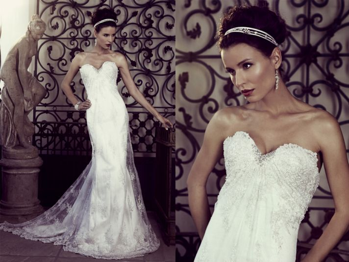 Elizabeth Stocktenstrom Wedding Dress 2013 Bridal 10