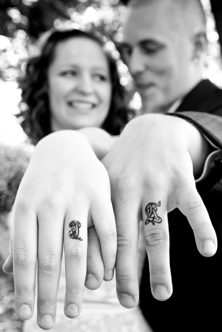 White Wedding Ring Tattoos: Wedding Bands That REALLY Last Forever