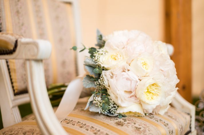 Bridal Bouquet Inspired by Anna Karenina