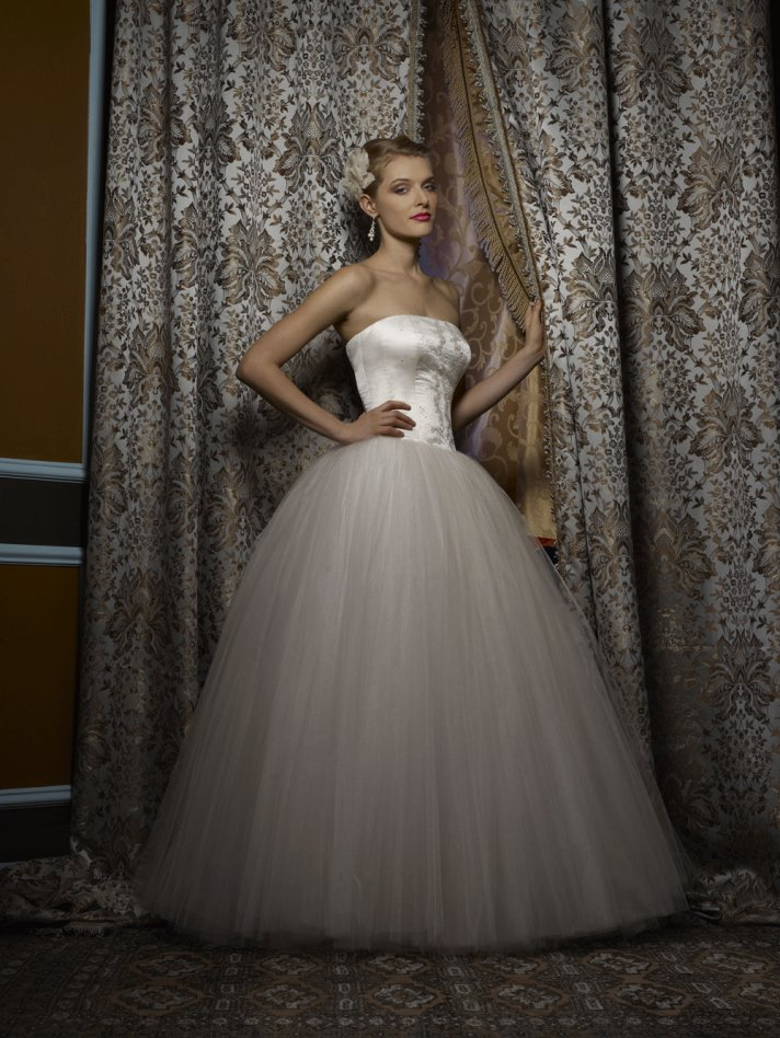 Wedding dress by Birnbaum and Bullock 2013 Bridal Katarina