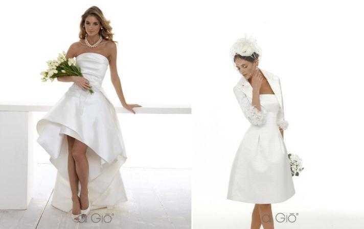 Little white wedding dress 2013 bridal Spose di Gio 2