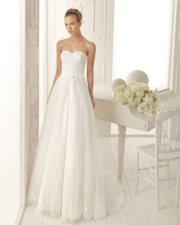 Aire Barcelona Wedding Dress 2013 Vintage Bridal Collection Vera