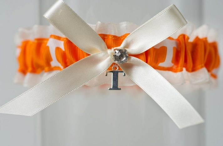 University of TN wedding garter