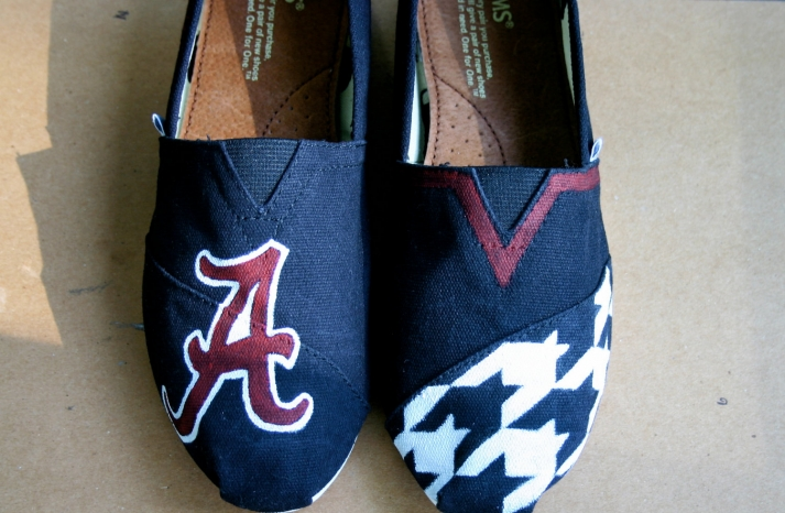 Toms wedding shoes alabama u