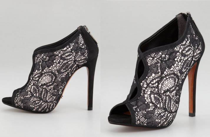 Illusion wedding shoes for 2013 brides 1