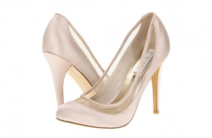 Illusion wedding shoes for 2013 blush