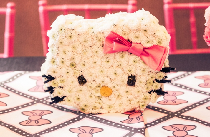 Hello Kitty Wedding Centerpiece