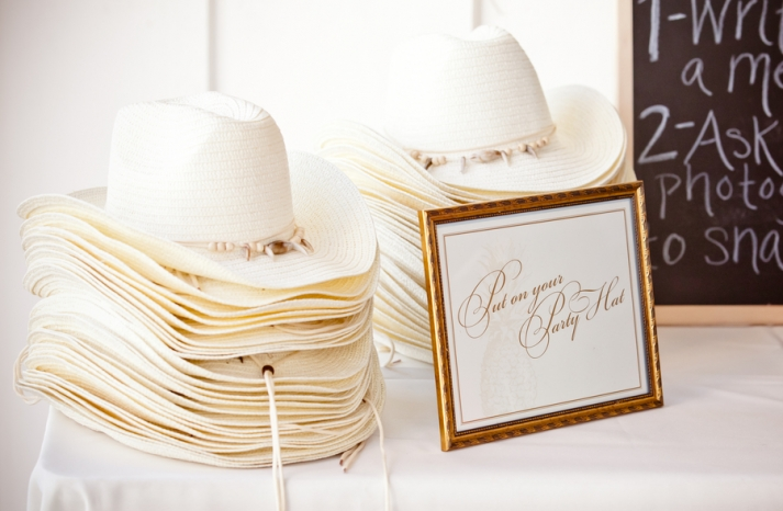 Cowboy Hats for Wedding Guest Favors