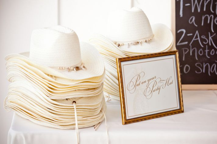 Cowboy Hats for Wedding Guest Favors
