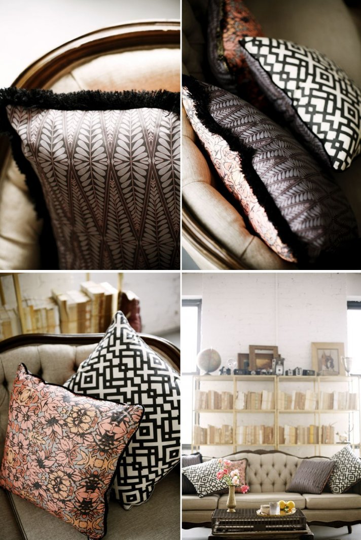 Pillows for the newlywed home 2