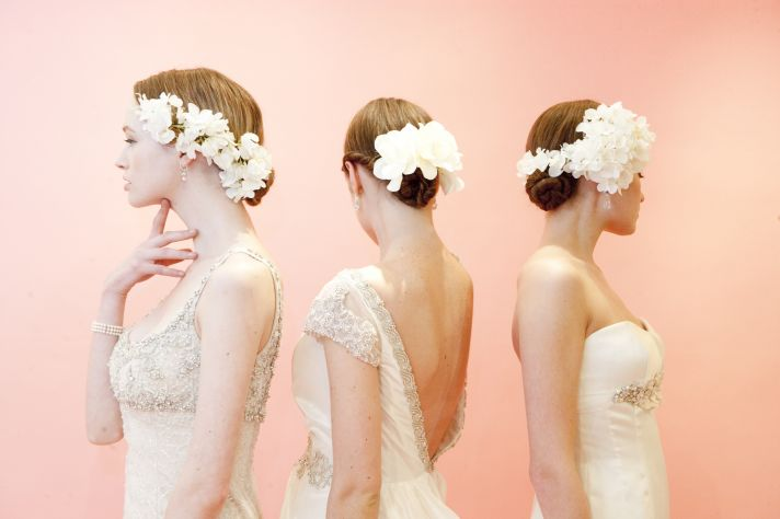 Bridal Beauty Inspiration Hair Makeup from Moroccanoil and Badgley Mischka 1