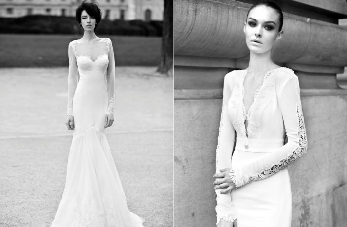 2013 bridal Berta Wedding Dresses 3