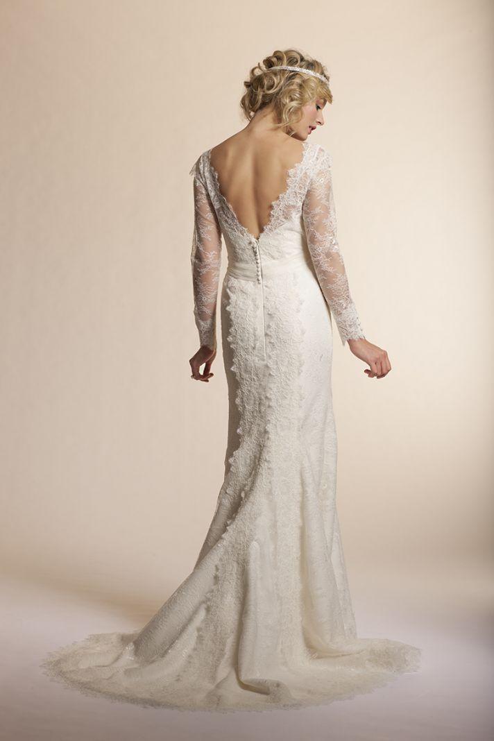 2013 wedding dress by Amy Kuschel Bridal Dahlia