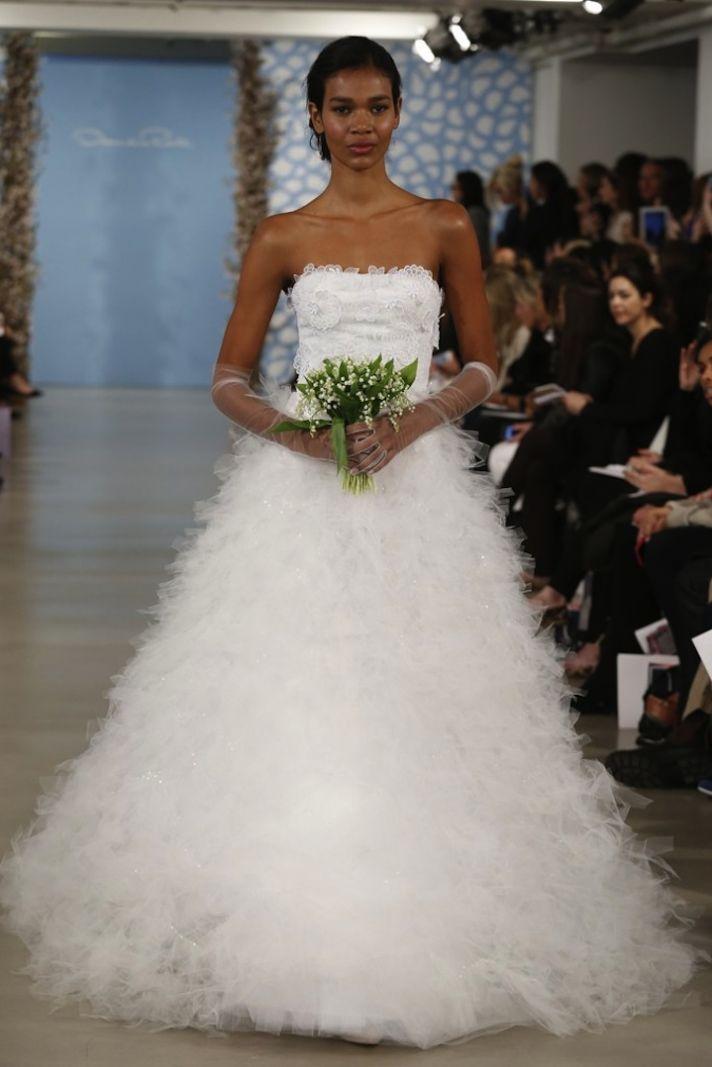 Oscar de la Renta Spring 2014 Wedding Dress