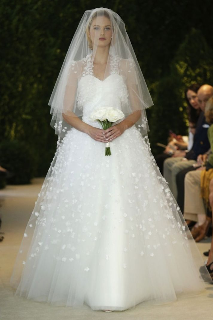 Carolina Herrera Wedding Dress Spring 2014 Bridal 17
