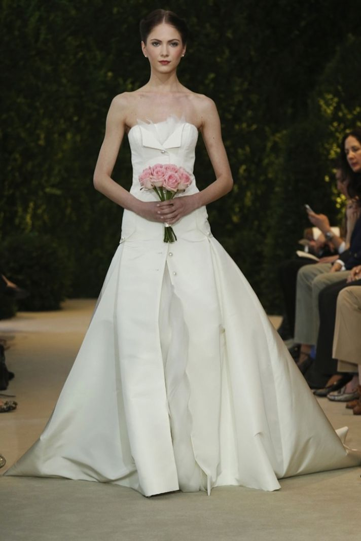 Carolina Herrera Wedding Dress Spring 2014 Bridal 10