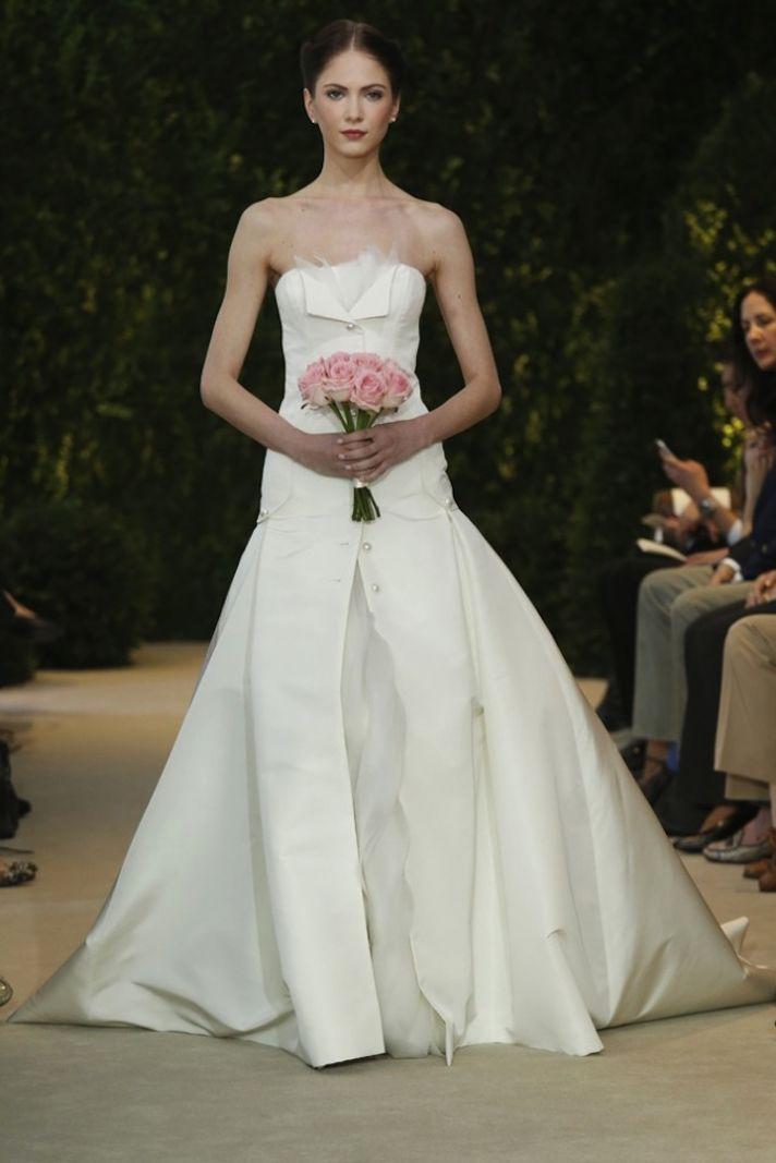Carolina Herrera Wedding Dress Spring 2014 Bridal 10