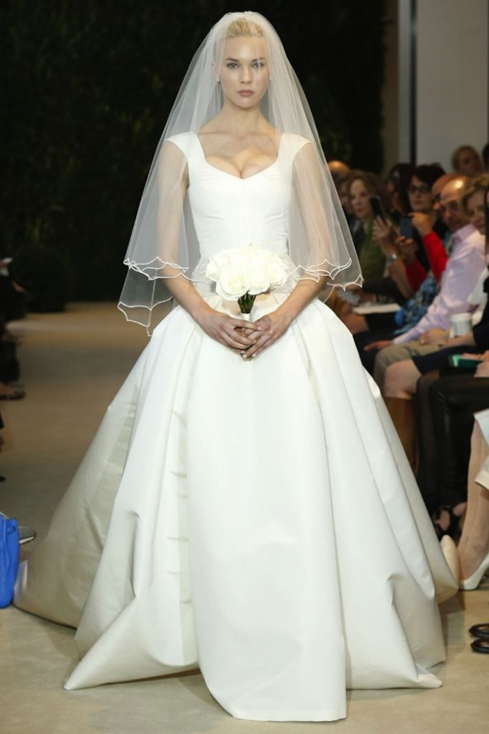 Carolina Herrera Wedding Dress Spring 2014 Bridal 3