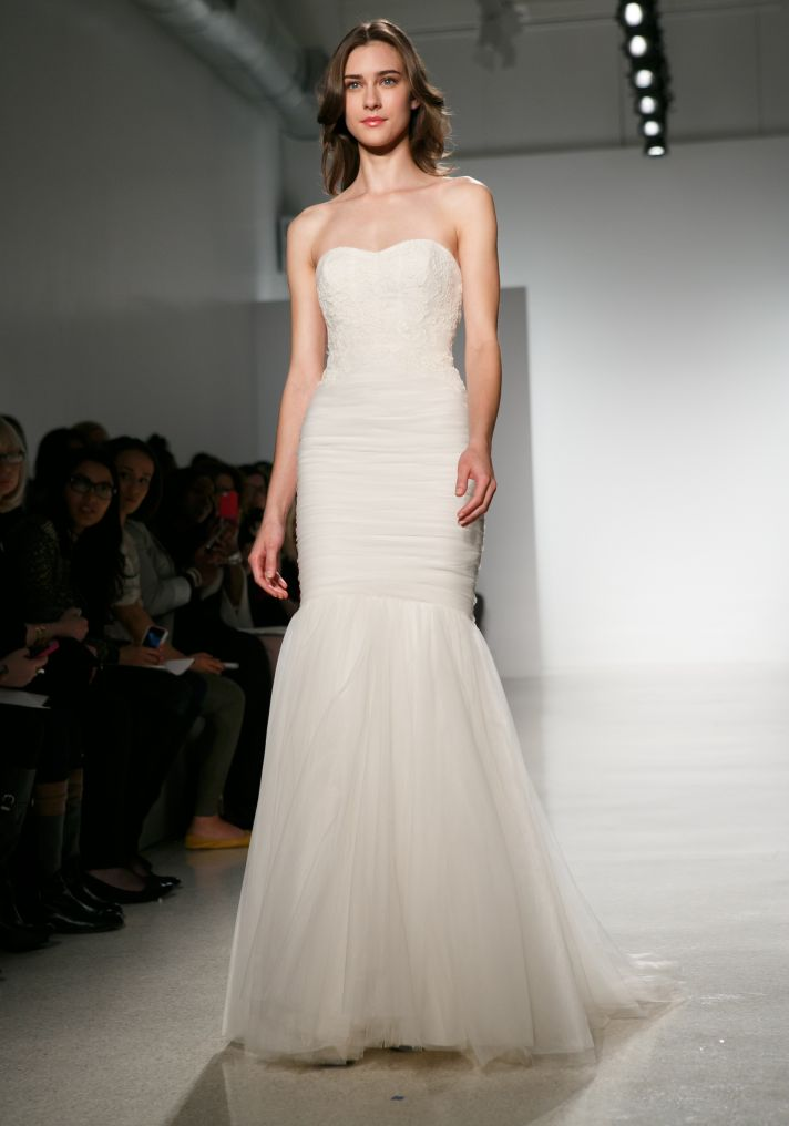 Christos Wedding Dress Spring 2014 Bridal 6m