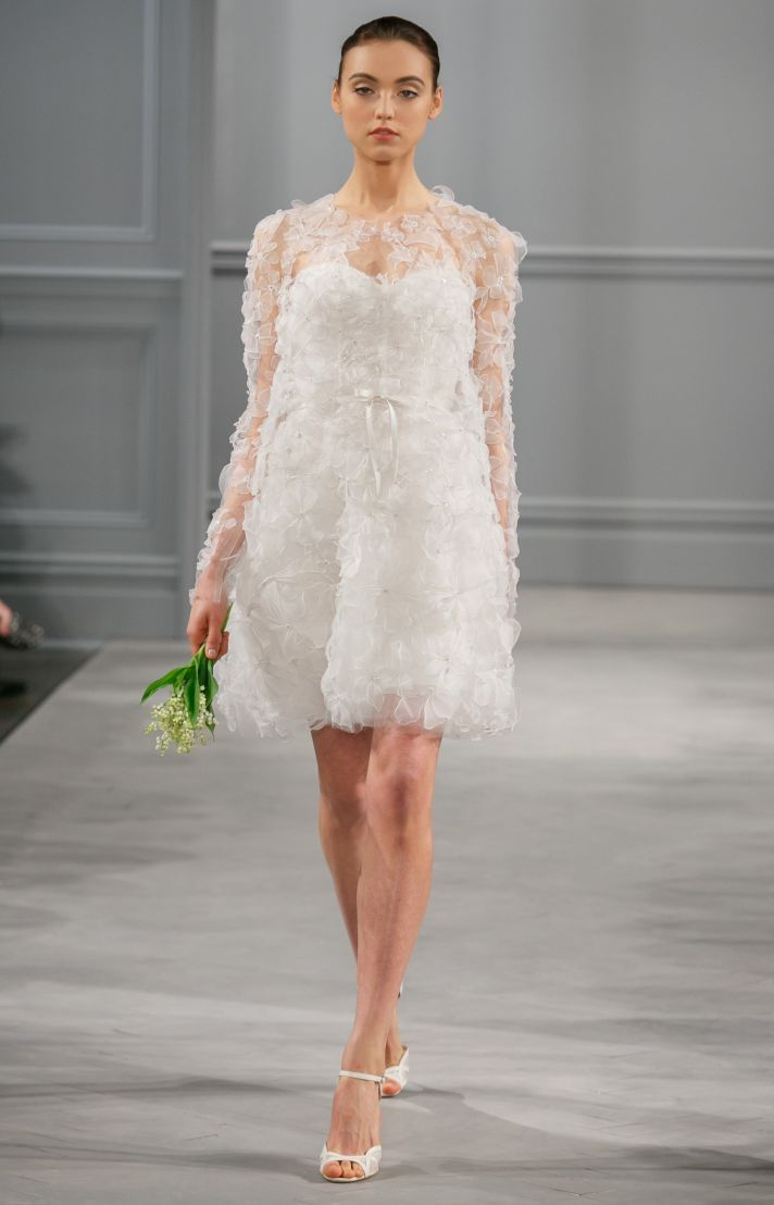 Spring 2014 Wedding Dress Monique Lhuillier Bridal Cherie 2